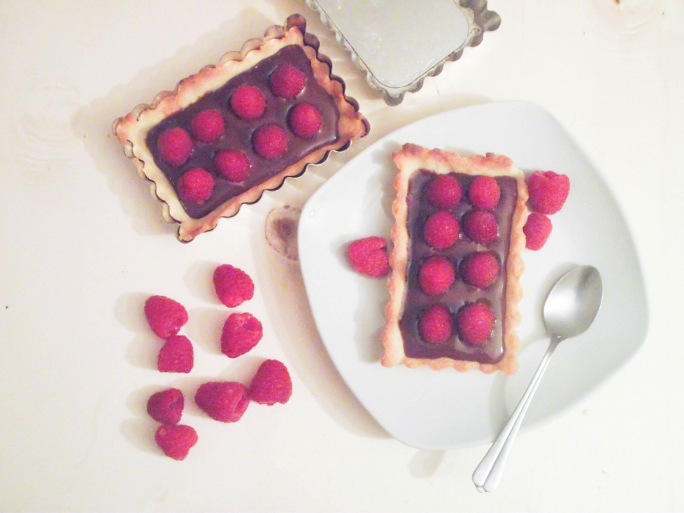 Tartelettes Choco Praliné & Framboises