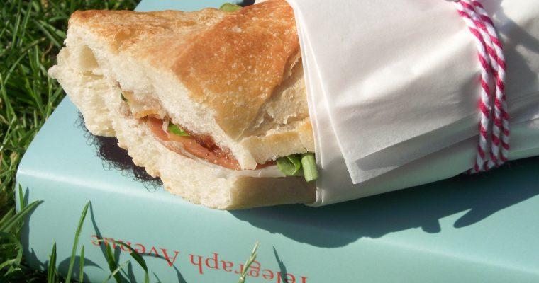 Sandwich à l'italienne & Prendre le temps