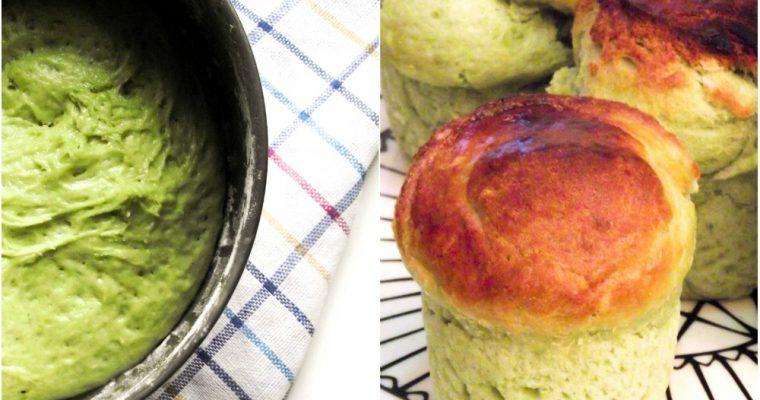 Petites brioches à la pistache & bonnes résolutions