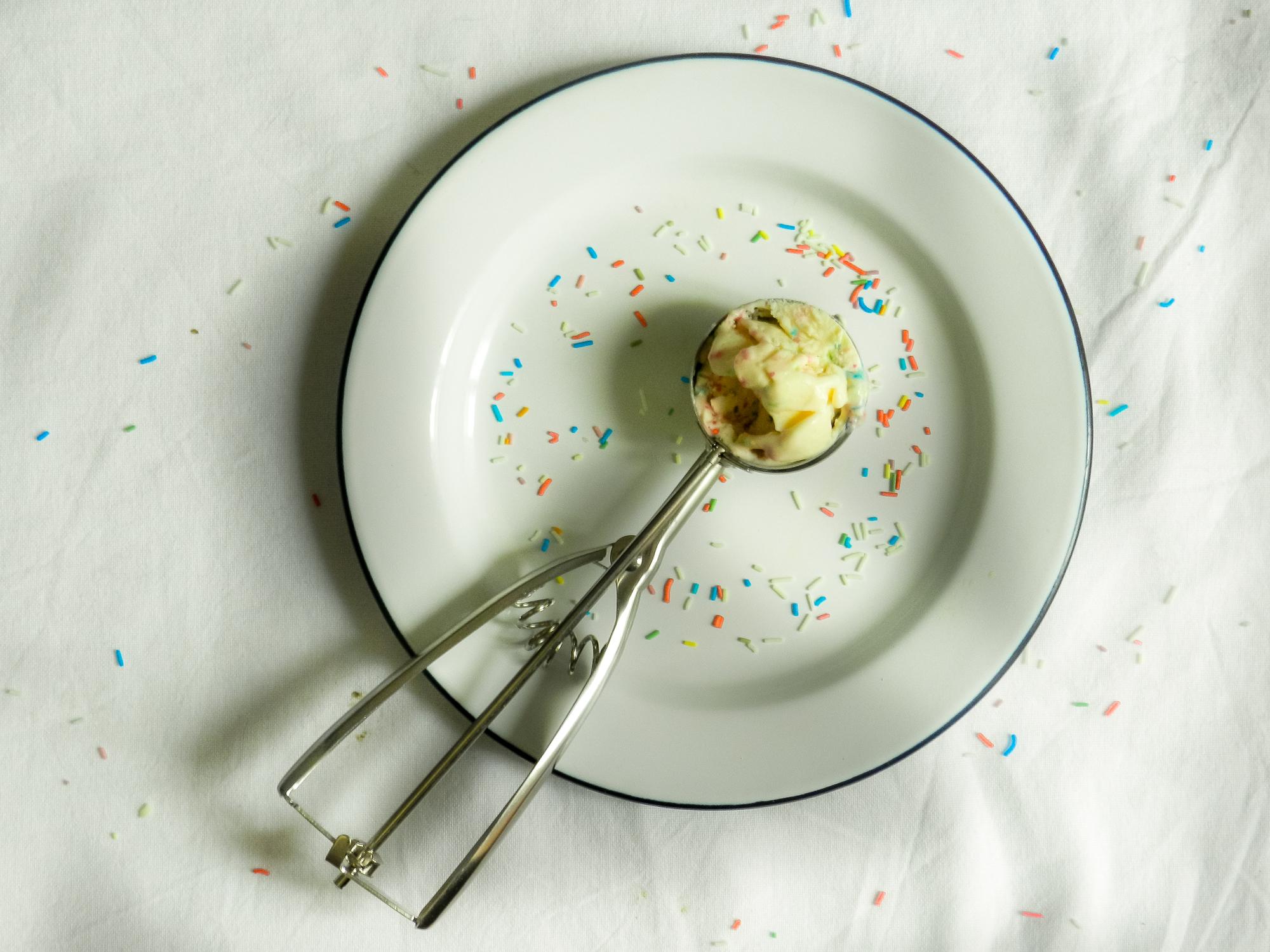 Crème glacée aux biscuits au beurre – Sans sorbetière